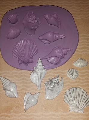 Mini Seashells Mold