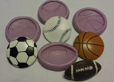 Sports Ball Mold Set
