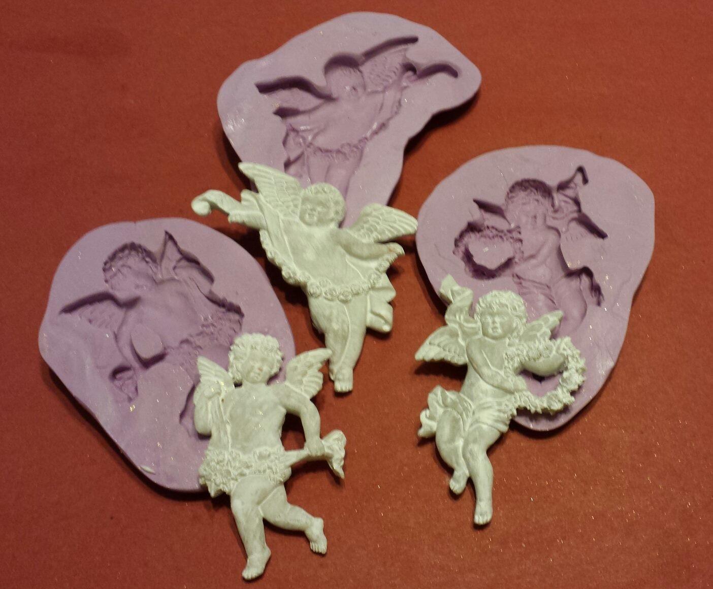 Cherub Molds - set of 3