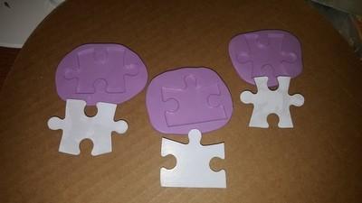 Puzzle Pieces Mold Set