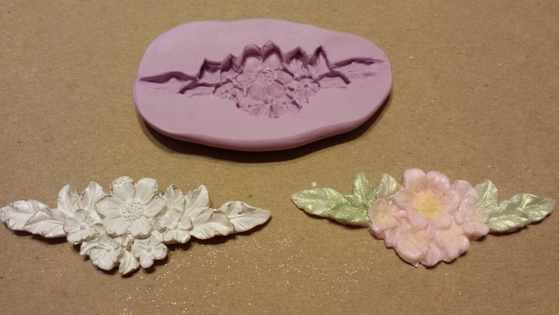 Floral Spray Mold