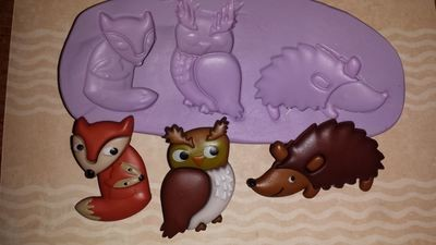 Mini Critters Set Mold