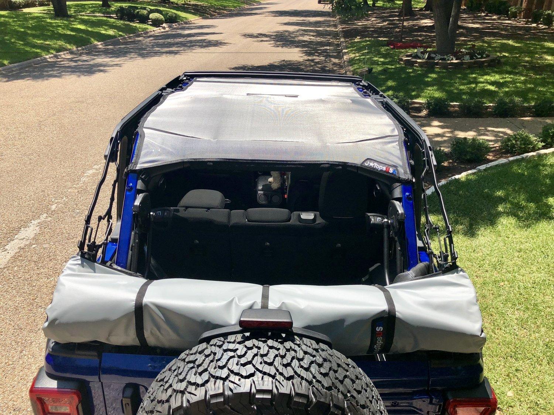 Jeep Yj Soft Top >> Wrangler Jlu Soft Top Boot