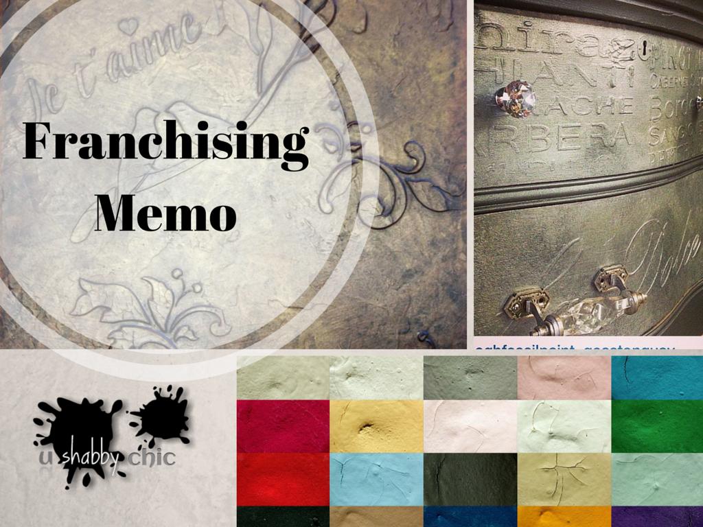 Franchising Memo