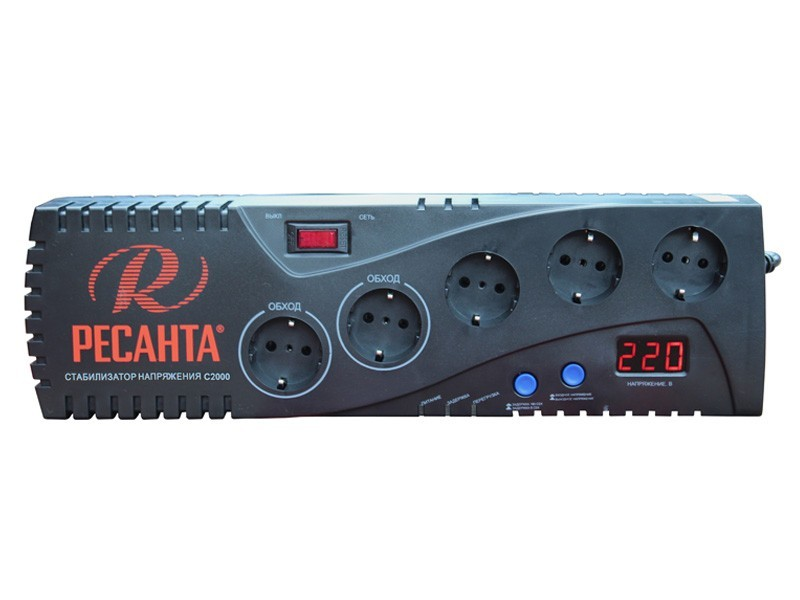 Стабилизатор напряжения РЕСАНТА С2000 63_6_34