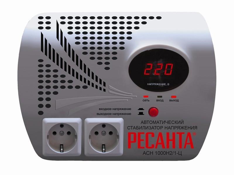 Стабилизатор напряжения серии LUX РЕСАНТА АСН-1000Н2/1-Ц 63_6_13