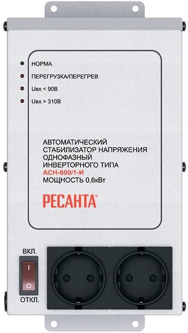 Стабилизатор напряжения Ресанта АСН-600/1-И 63_6_36
