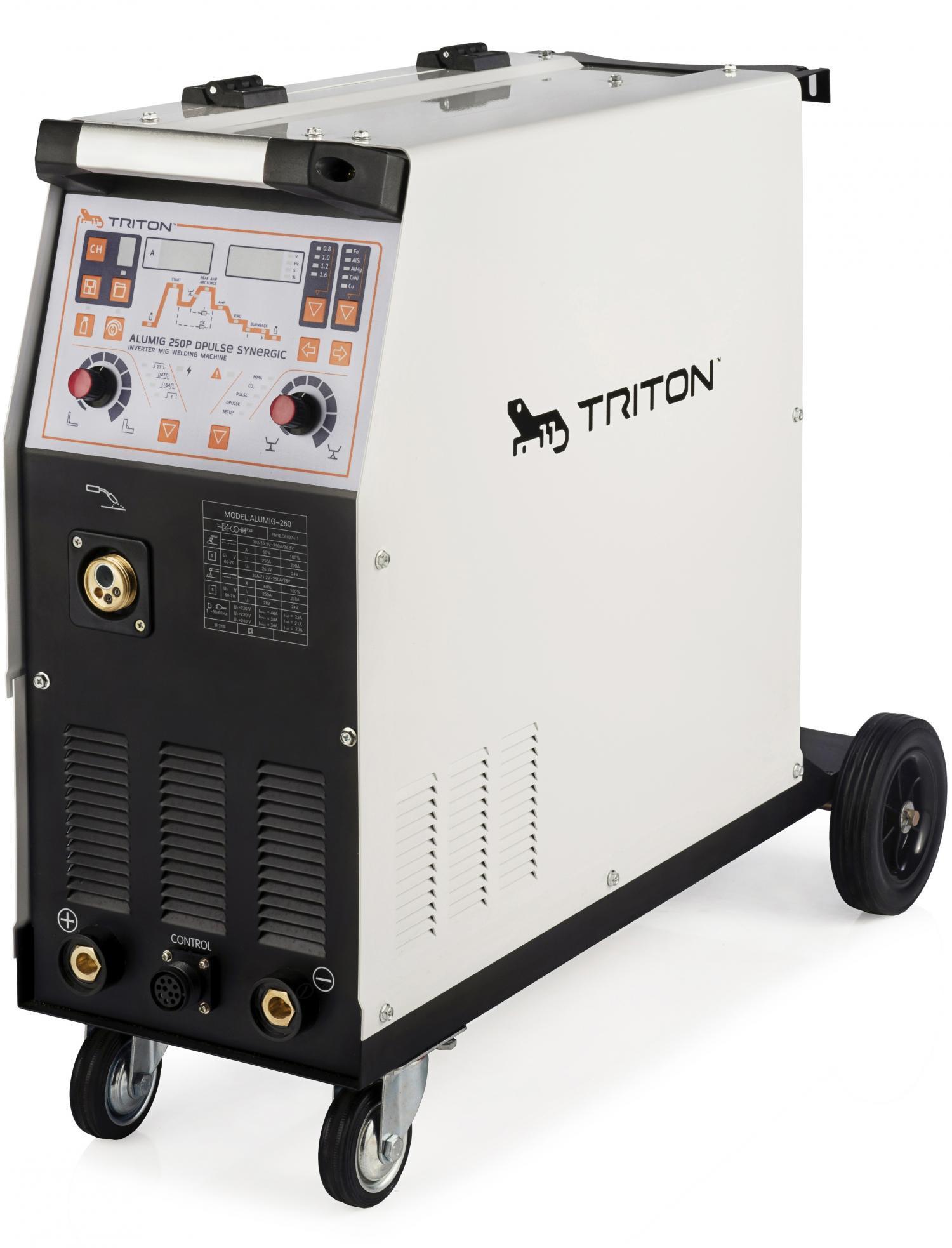 Сварочный полуавтомат TRITON ALUMIG 250P Dpulse Synergic TAMG250PDPS