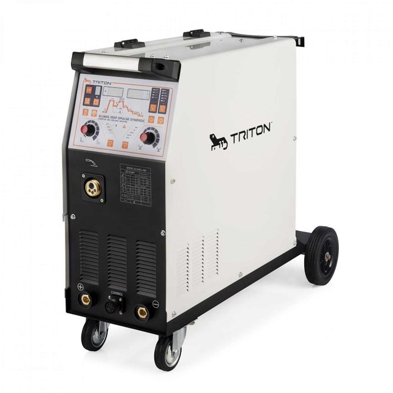 Сварочный полуавтомат TRITON ALUMIG 250P Dpulse Synergic 380V TAMG250PDPS3V