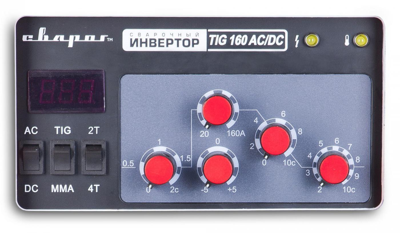 Сварочный инвертор Сварог TIG 160 AC/DC (R57)