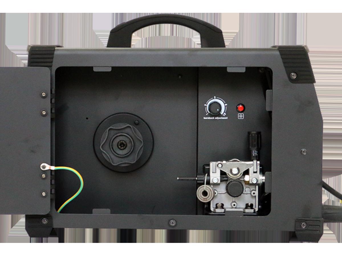 Сварочный инвертор REAL MIG 200 (N24002) BLACK (в комплекте маска + краги)