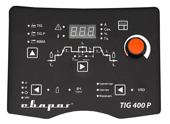 Сварочный инвертор TECH TIG 400 P (W322)