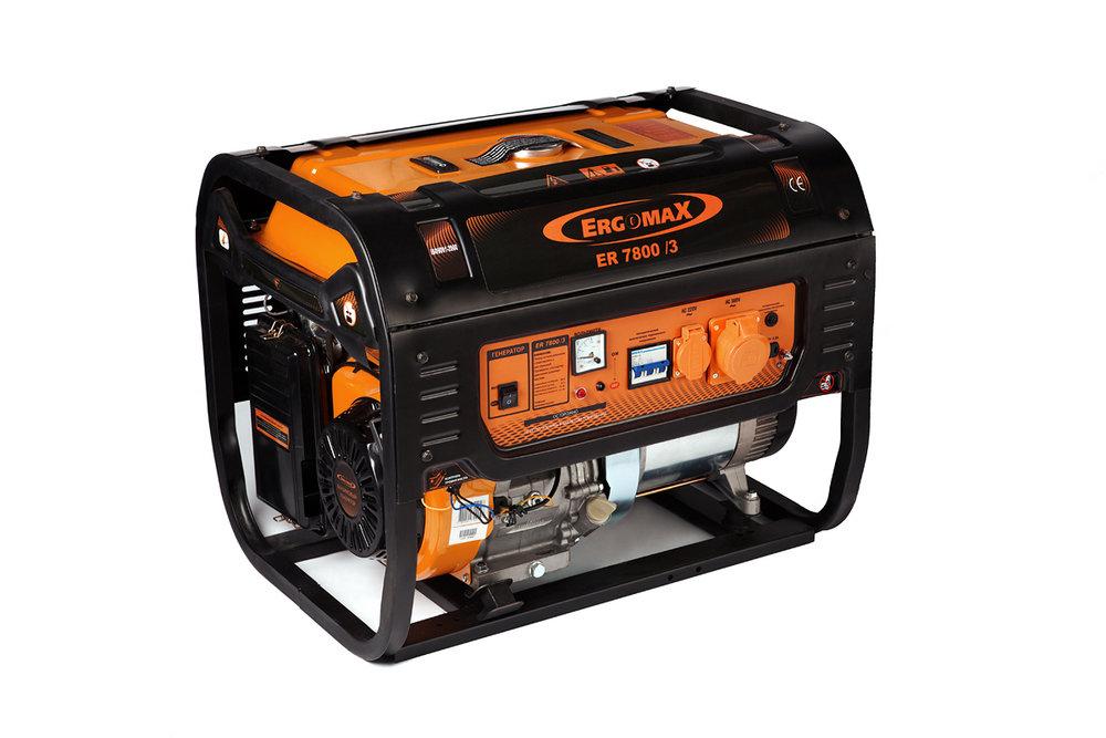 Бензиновый генератор ER 7800/3 ER7800/3