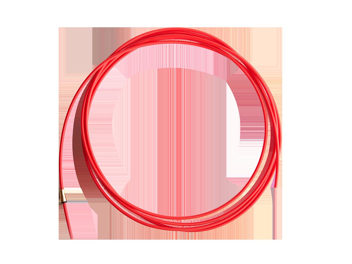 Канал направляющий тефлон красный (1.0-1.2) IIC0160