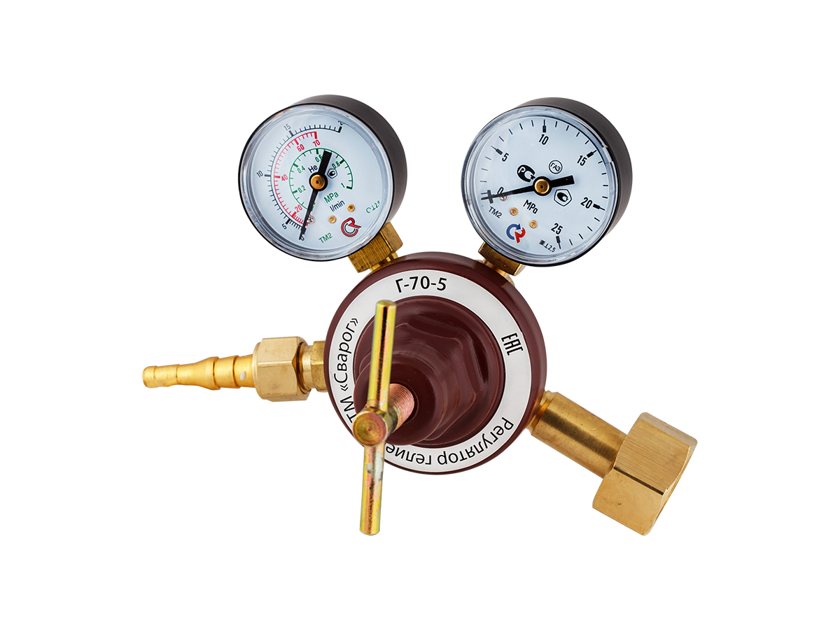 Регулятор расхода газа гелиевый Г-70-5 (манометр +  расходомер) 94149