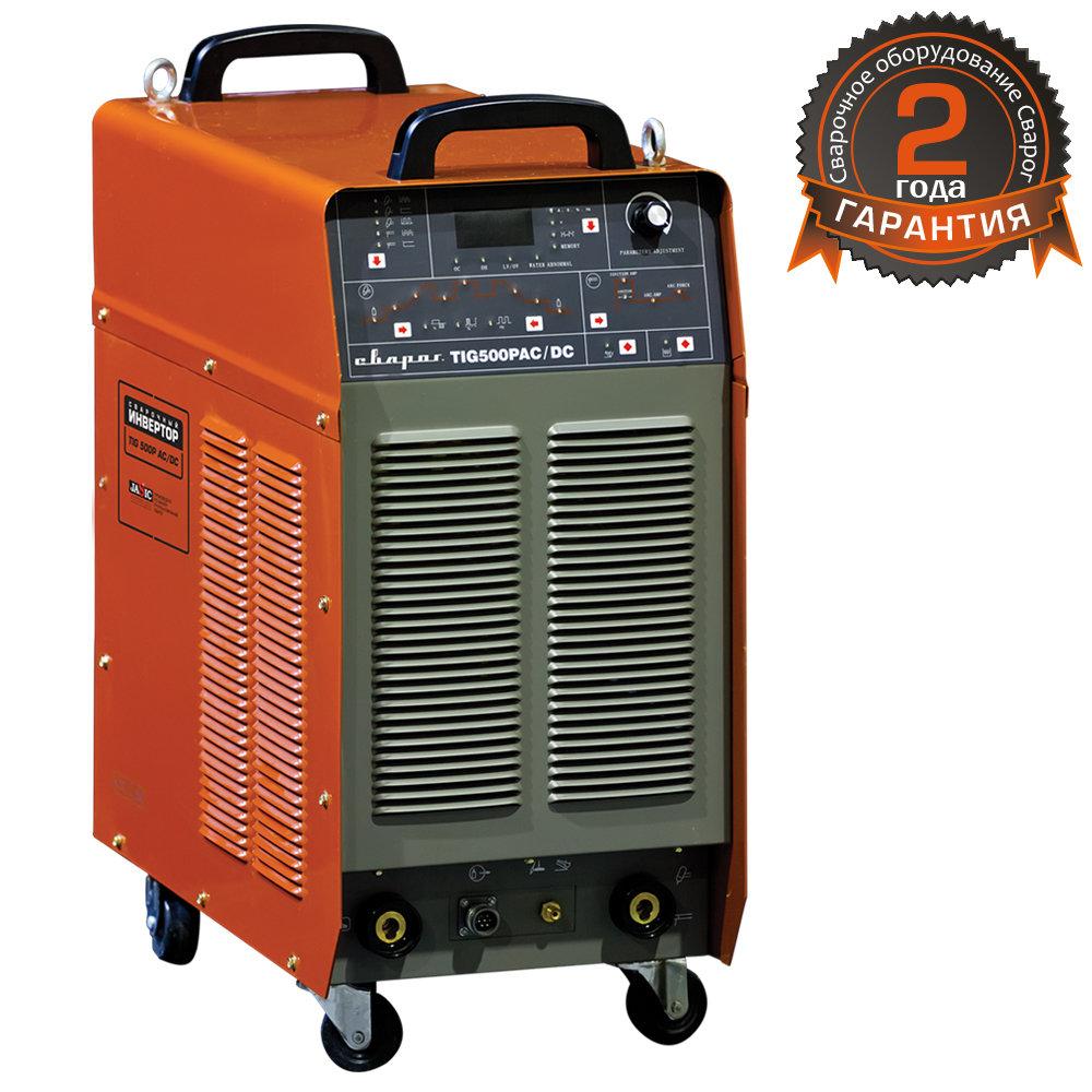 Сварочный инвертор Сварог TIG 500 P DSP AC/DC (J1210) 88240