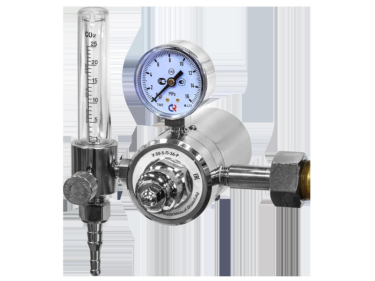Регулятор расхода газа углексислотный У-30-5-П-36-Р 94745