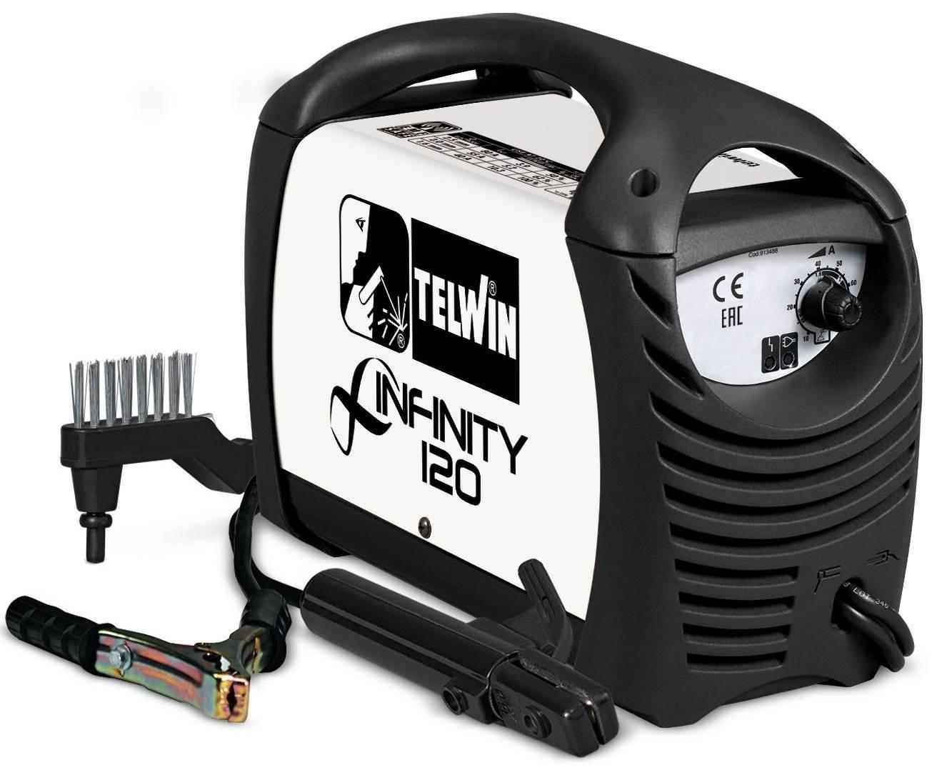 Сварочный аппарат Telwin INFINITY 120 230V ACD 816078