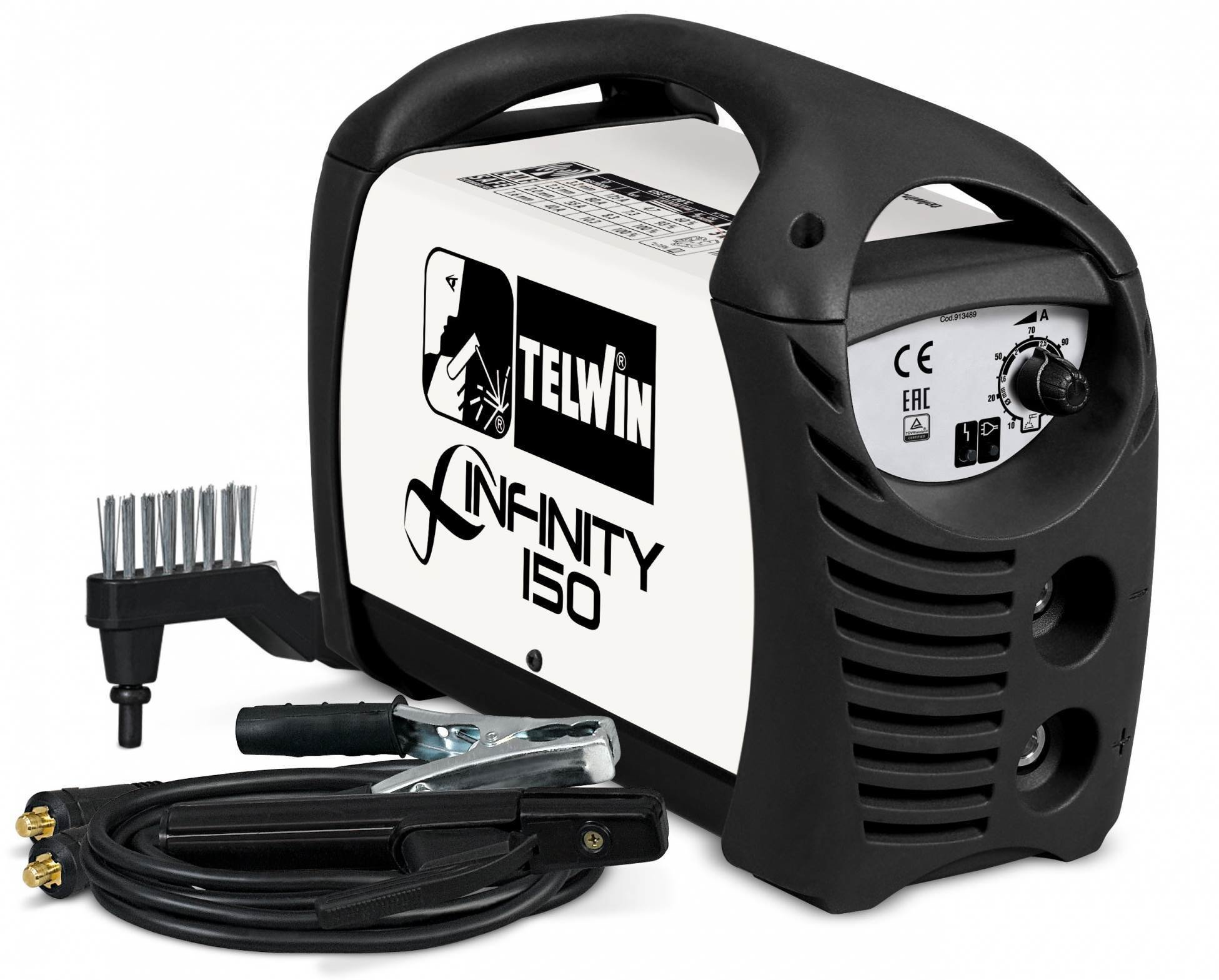 Сварочный аппарат Telwin INFINITY 150 ACD CARDBOARD CARRY 816079