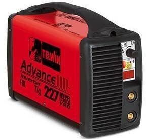 Аппарат аргонодуговой сварки Telwin ADVANCE 227 MV/PFC TIG DC-LIFT VRD 816010