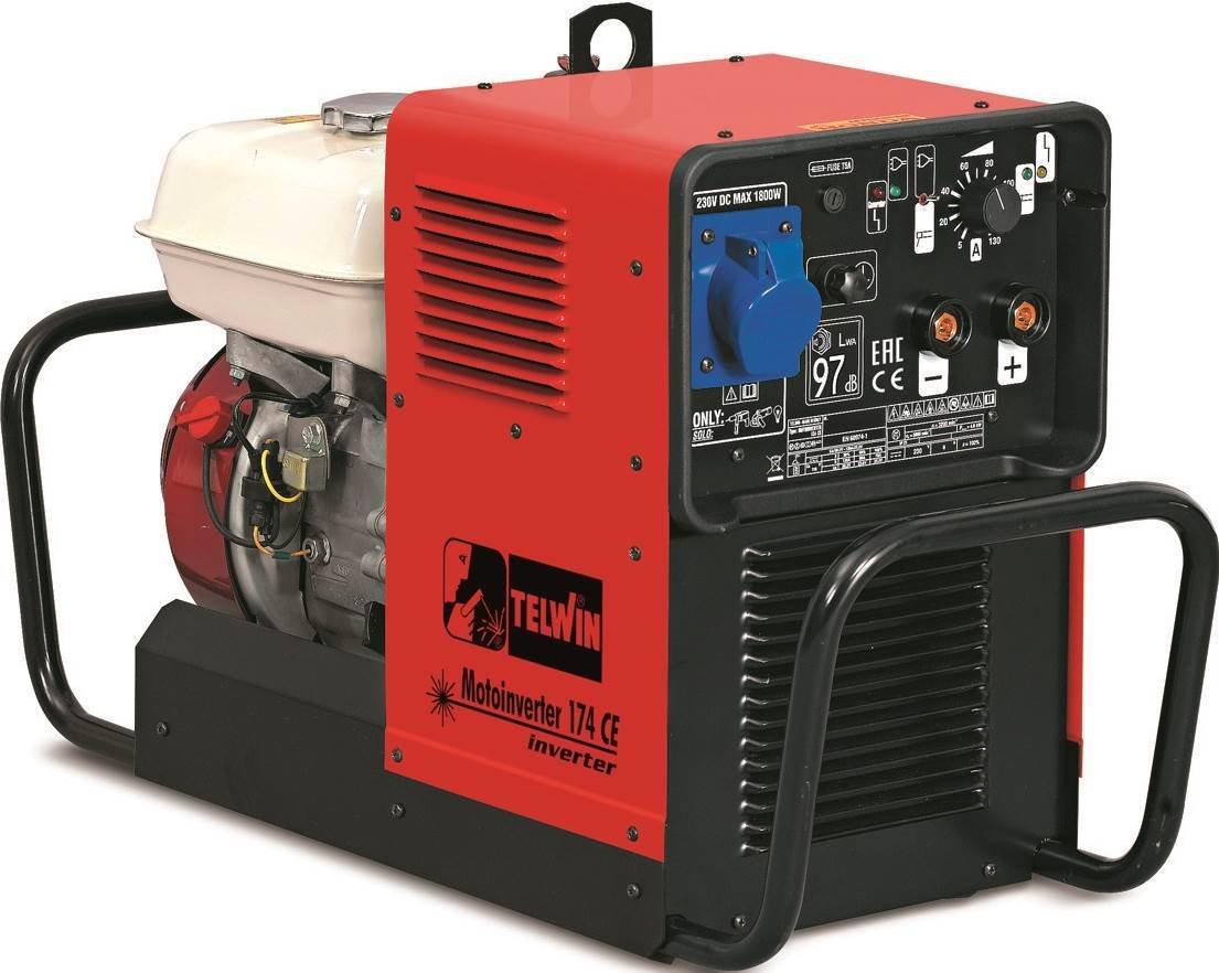 Сварочный генератор MOTOINVERTER 174 CE  HONDA 815791