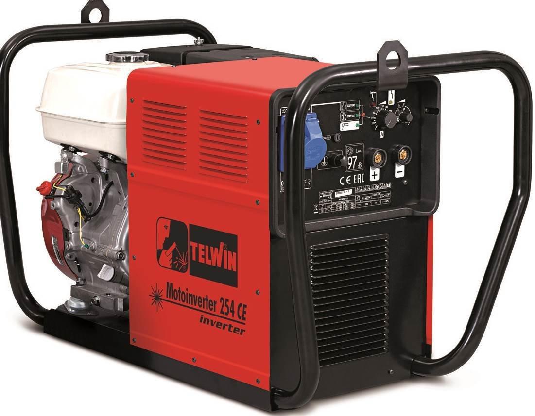 Сварочный генератор Telwin MOTOINVERTER 254 CE  HONDA 815975