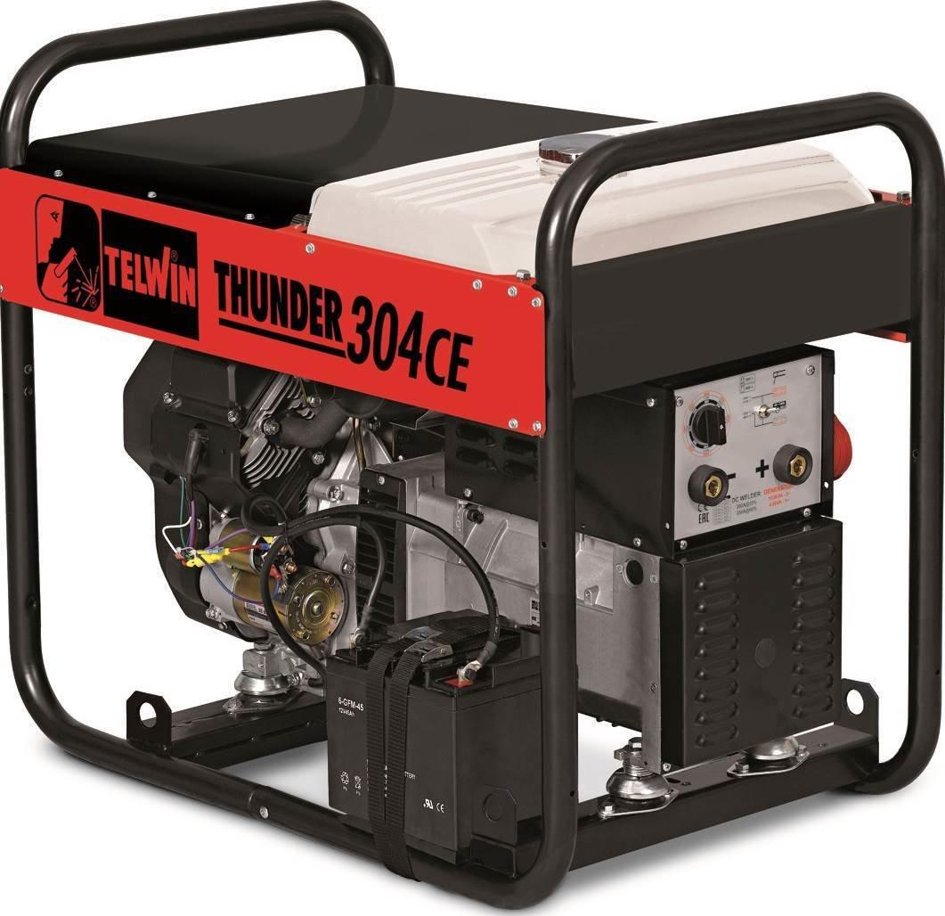 Сварочный генератор Telwin THUNDER 304 CE  KOHLER 825002