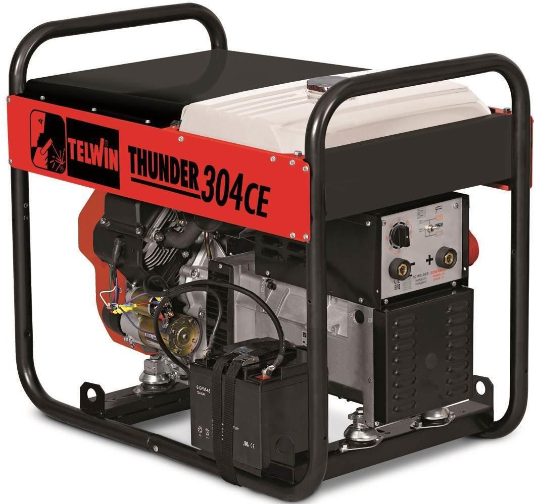 Сварочный генератор Telwin THUNDER 304 CE  HONDA 825005