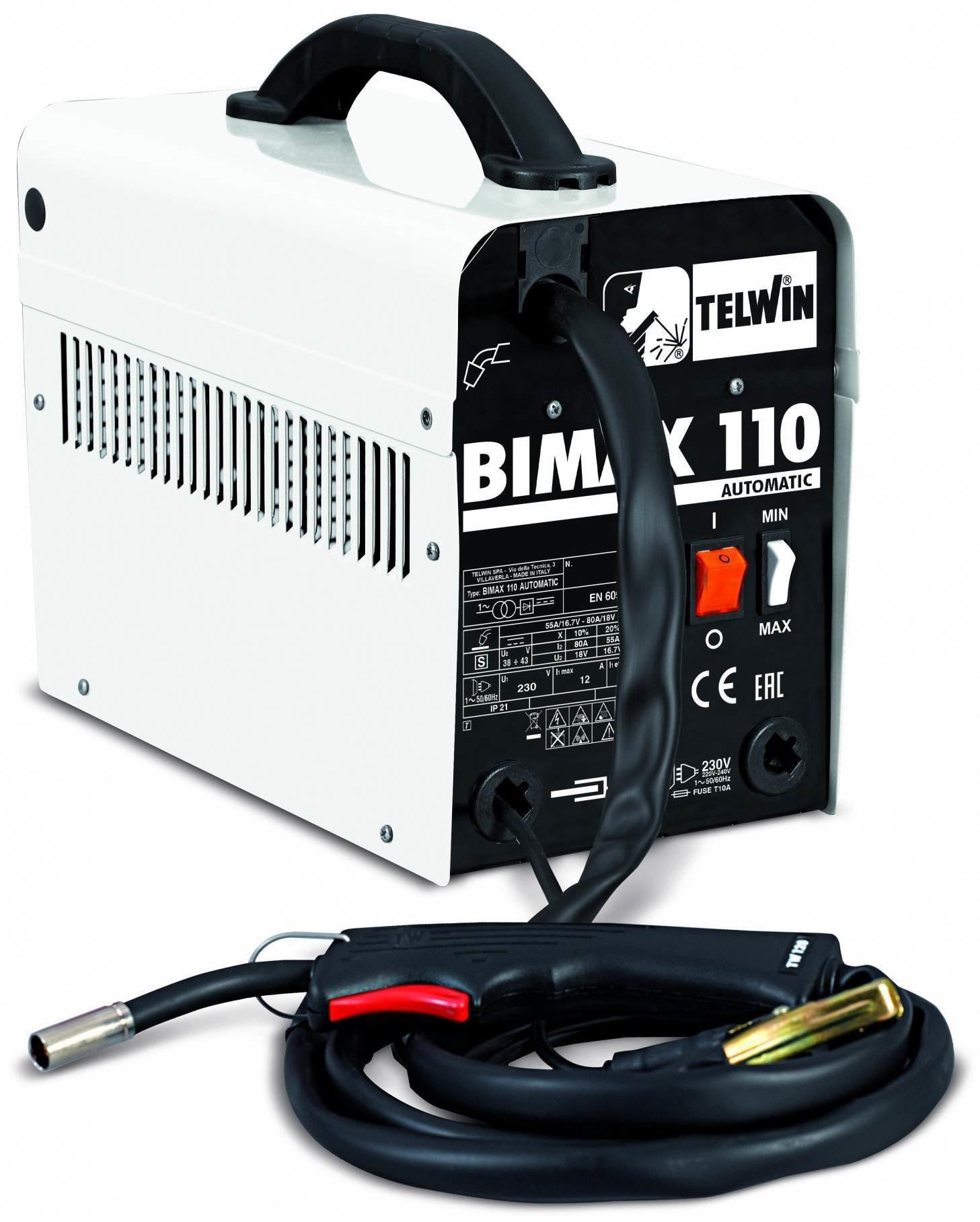 Сварочный выпрямитель BIMAX 110 AUTOMATIC 821075
