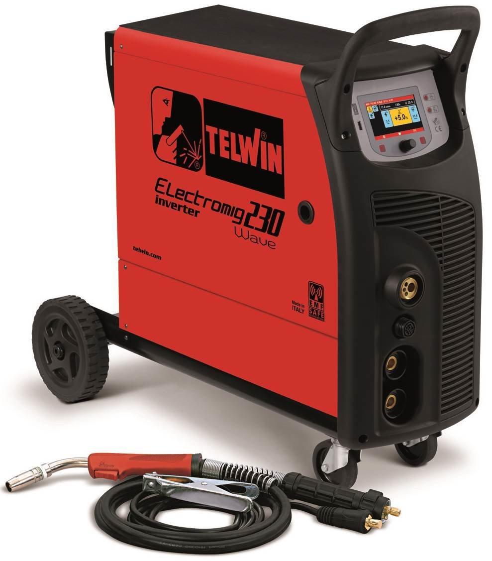 Сварочный полуавтомат ELECTROMIG 230 WAVE 816060
