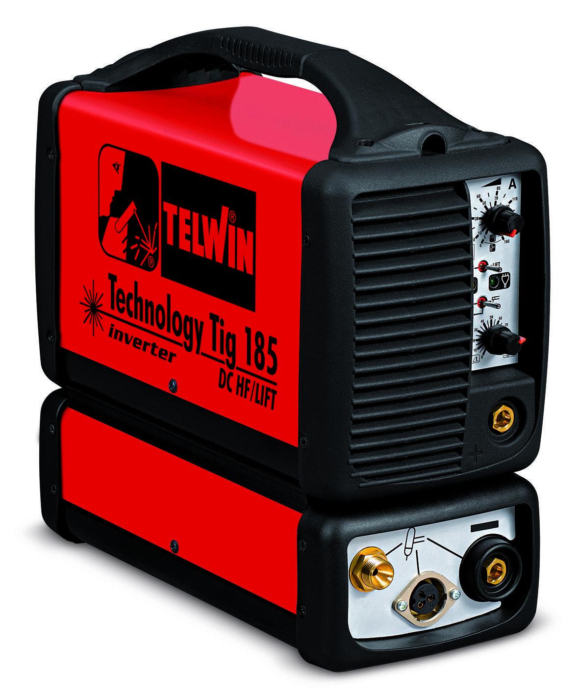 Аппарат аргонодуговой сварки Telwin TECHNOLOGY TIG 185 DC + ALU CASE + TIG ACC. 815956