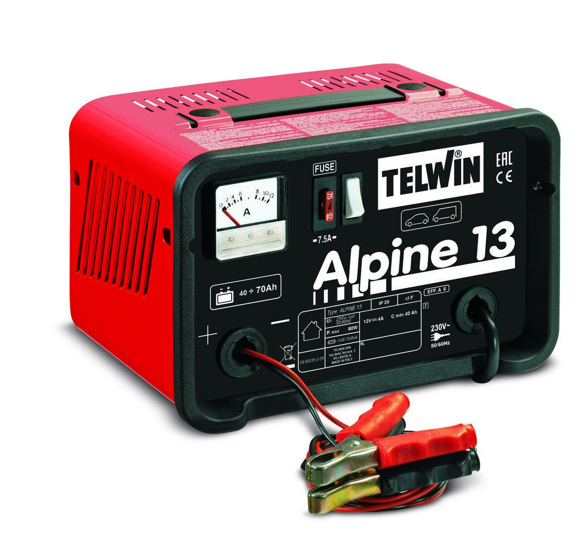 Зарядное устройство ALPINE 13 12V 807542