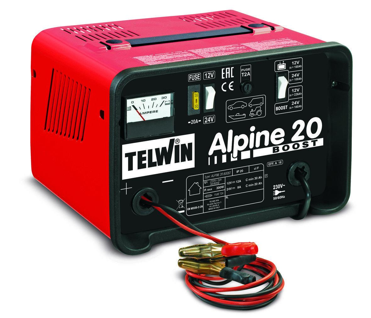 Зарядное устройство ALPINE 20 BOOST 12-24V 807546