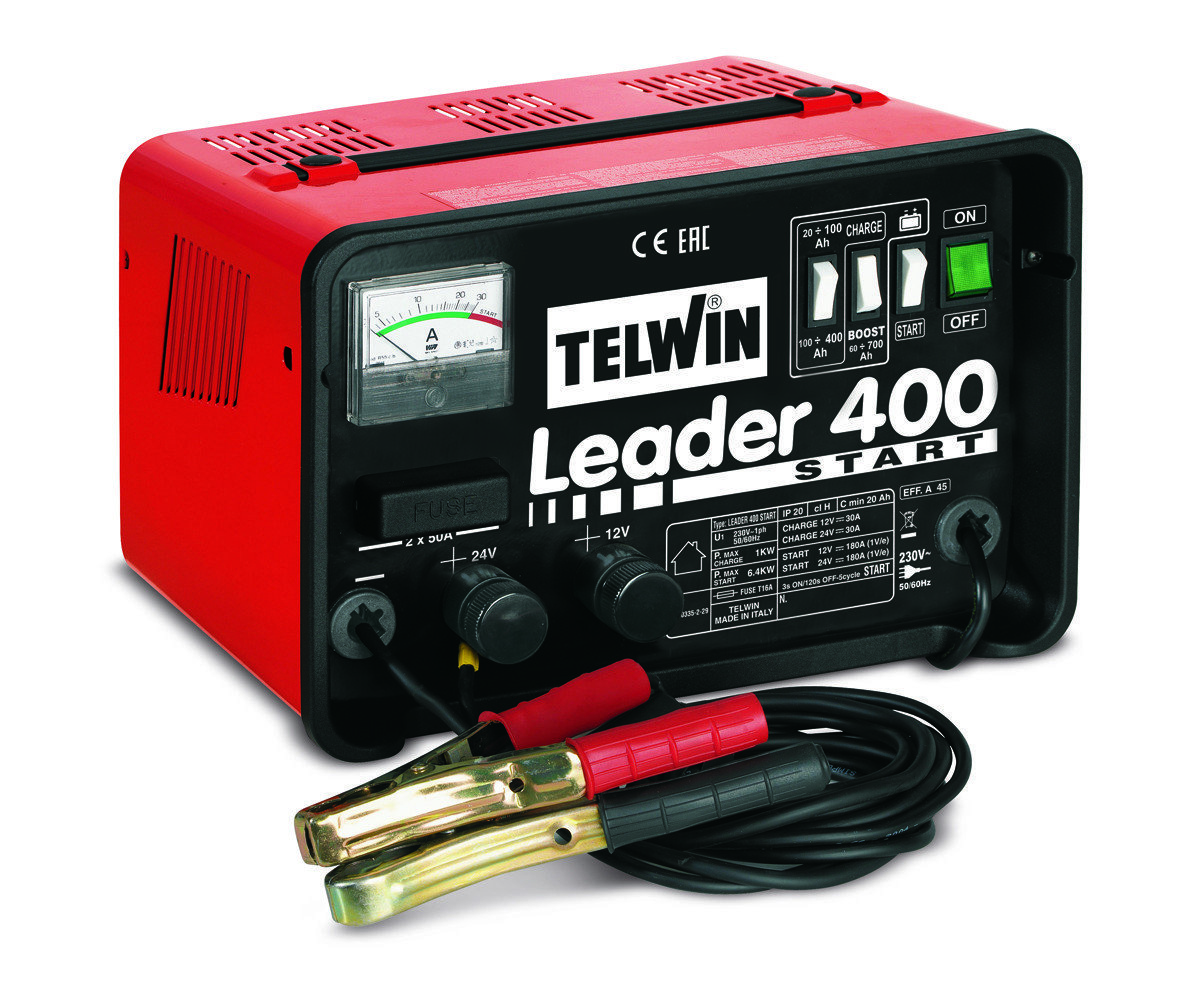 Пуско-зарядное устройство LEADER 400 START 12-24V 807551