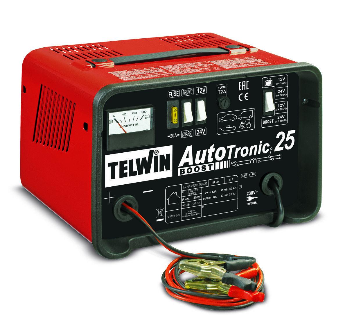 Зарядное устройство AUTOTRONIC 25 BOOST 12V/24V 807540
