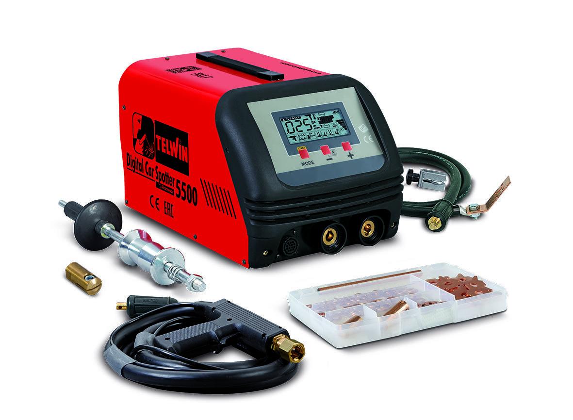 Аппарат точечной сварки DIGITAL CAR SPOTTER 5500 400В 823232