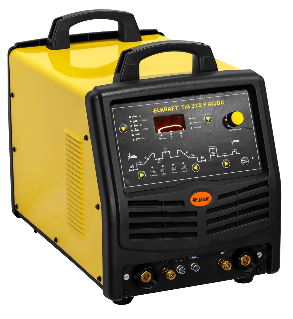 Инвертор сварочный Elkraft TIG 315 P AC/DC (E106) 95595