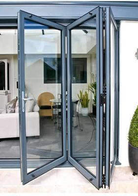 3 Panel Aluminium Bifolding Door