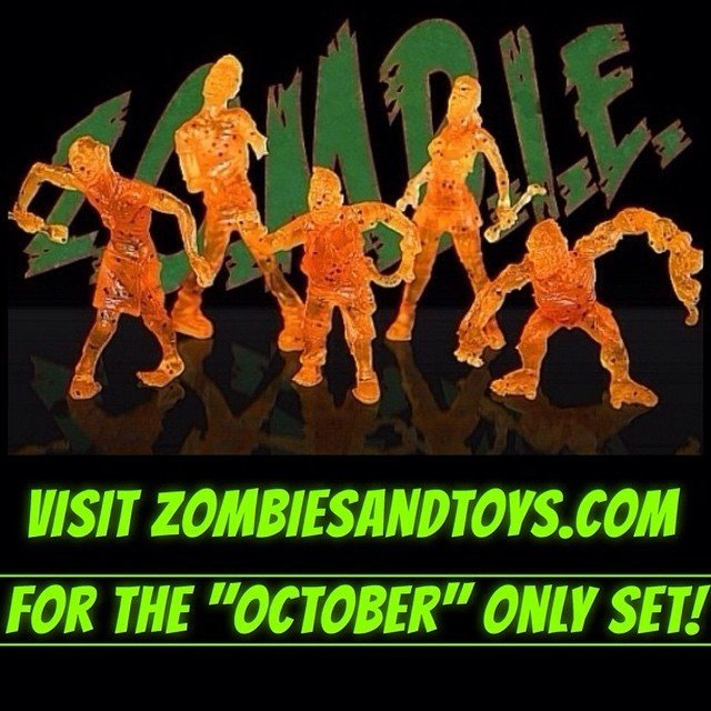 Z.O.M.B.I.E. Halloween exclusive set
