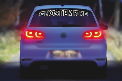Ghost Empire Heckscheibenaufkleber