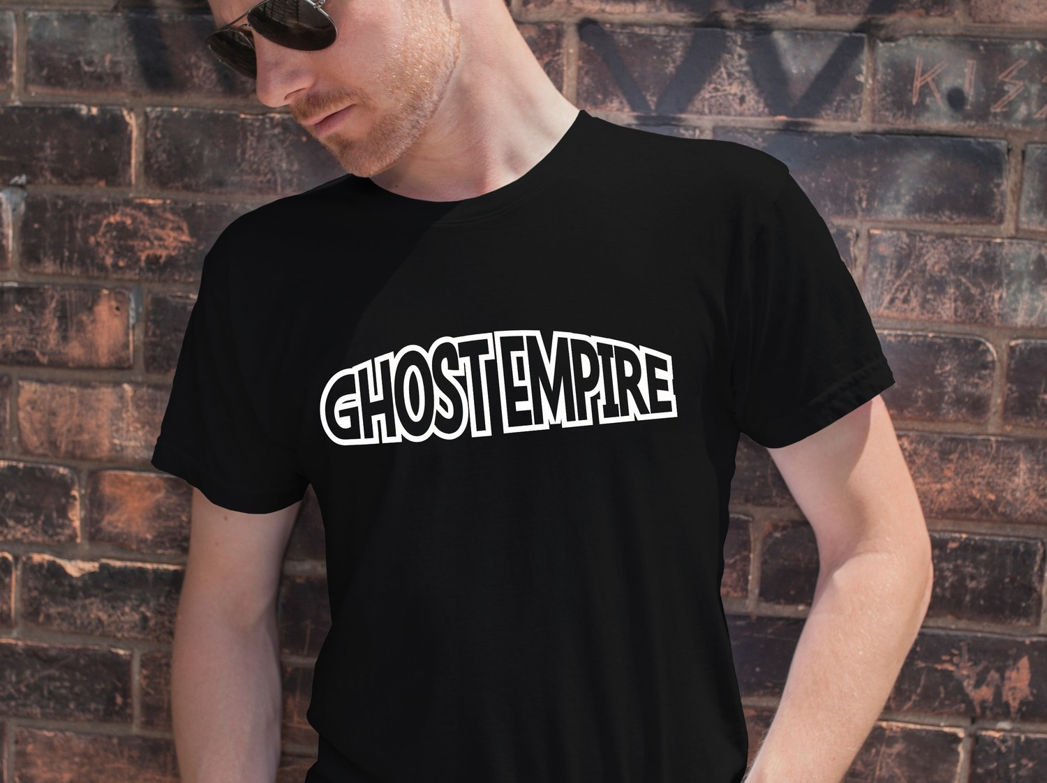 """Ghost Empire"" Clean T"