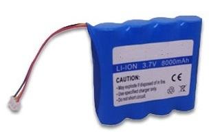 Battery Pack, LanExpert Series, 3.7VDC