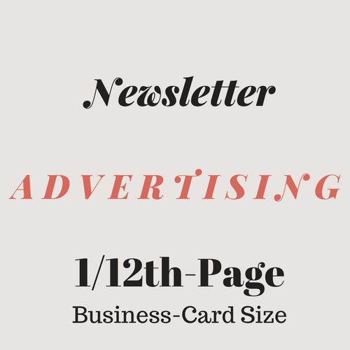 1/12th-Page Business-card Size