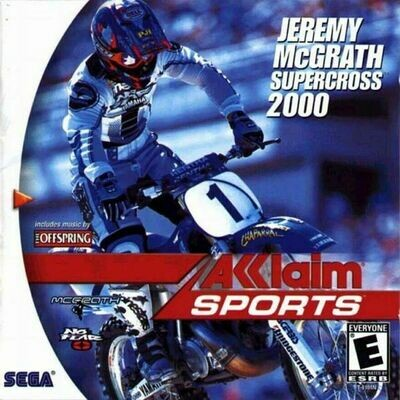 Jeremy McGrath Supercross 2000 (NEW)