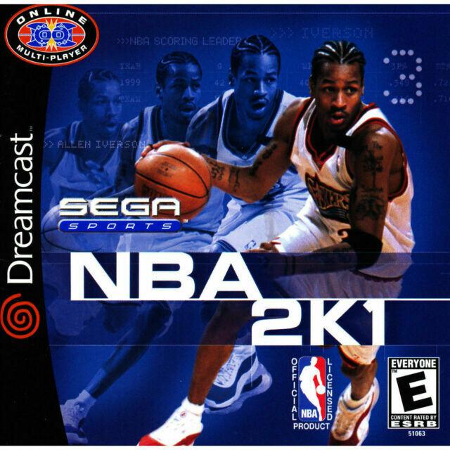 NBA 2K1 (NEW)