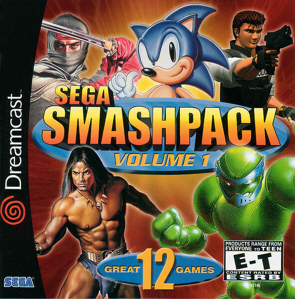 Sega Smashpack Vol 1 (Very Good)