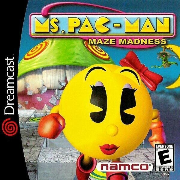 Ms. Pac-Man: Maze Madness (Very Good)