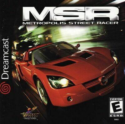 Metropolis Street Racer (MSR) (Very Good)