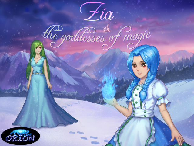 *Cosmetically Damaged* Zia and The Goddess of Magic