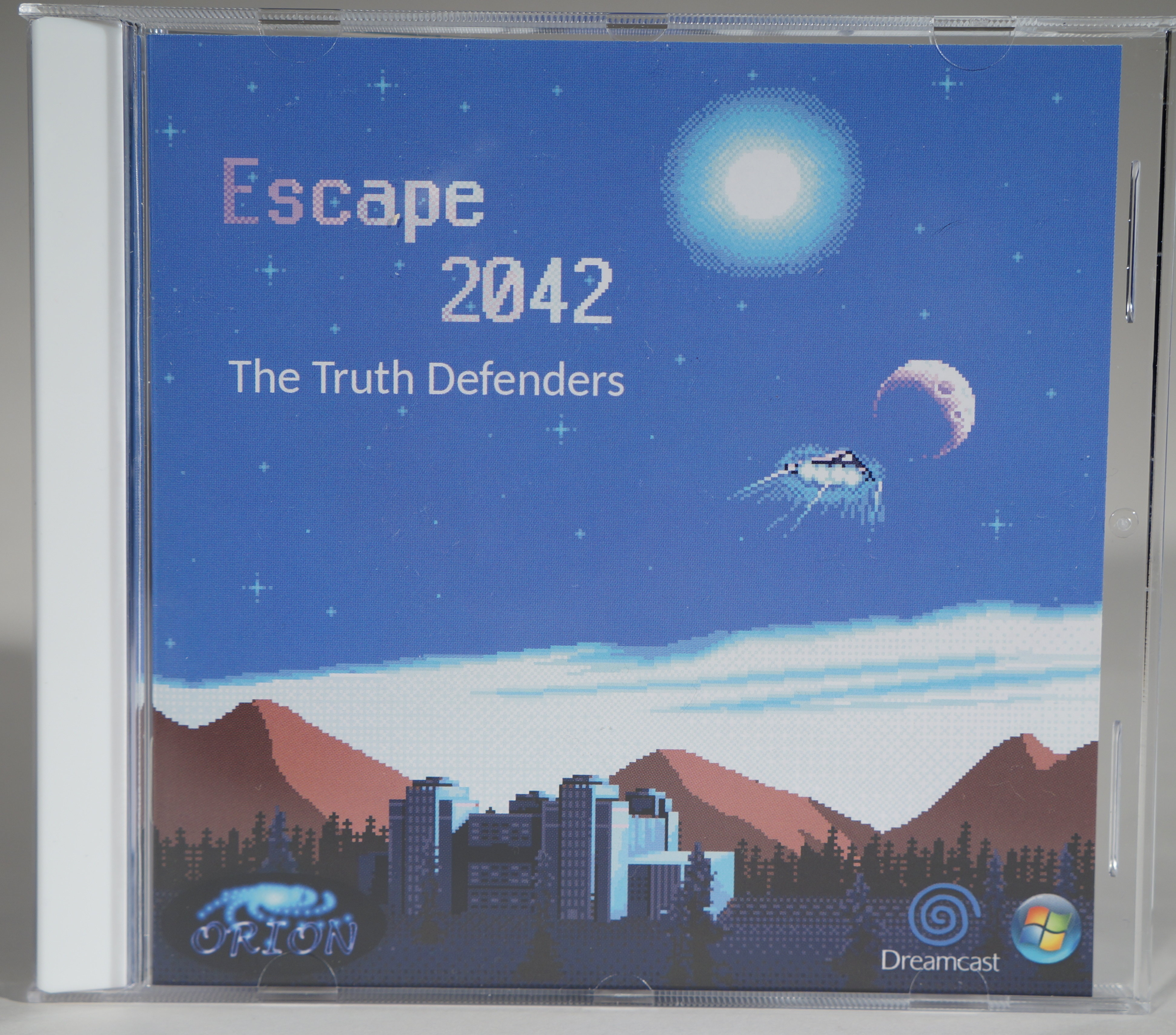 *Cosmetically Damaged* Escape 2042: The Truth Defenders (Dreamcast) 200102